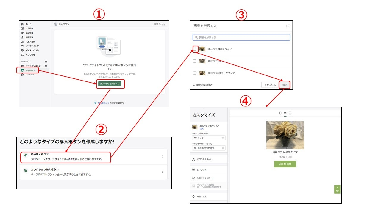 Shopify LINE BuyButton 使い方