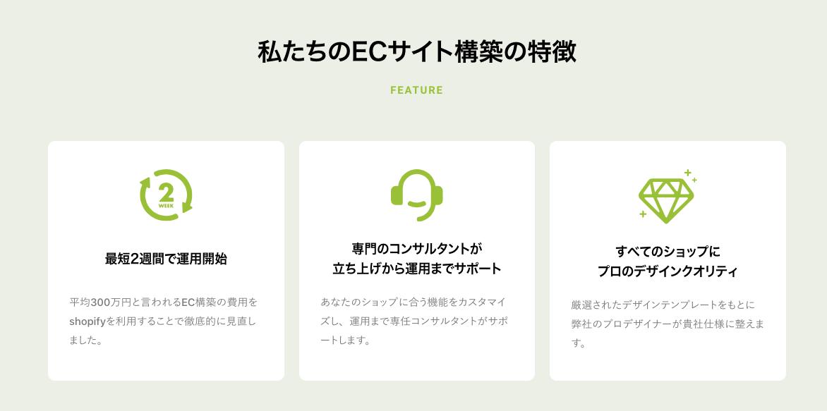 ANVIEはShopifyの公式開発パートナーです。